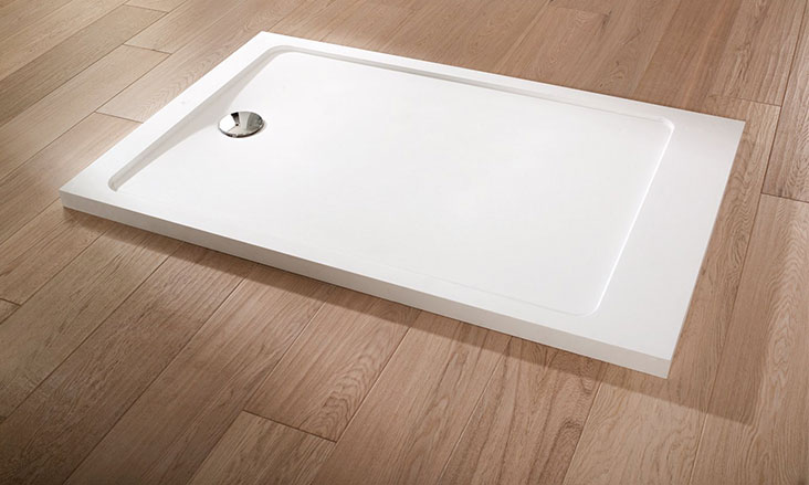 KRION® Shower Trays
