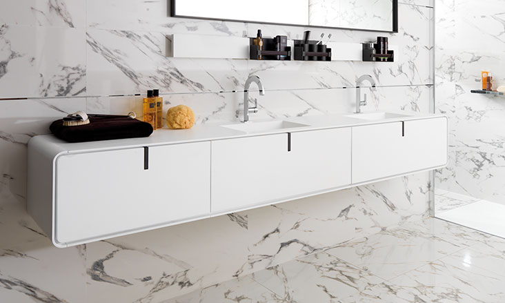 KRION® Bathroom Vanities