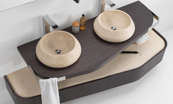 Stone Bathroom Vanities