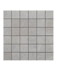 DEEP LIGHT GREY NATURE MOSAIC