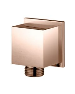 Wall-mount supply elbow -  COPPER