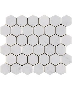 ESSENTIAL HEXAGON PERSIAN WHITE