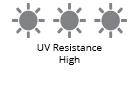 UV Resistance High