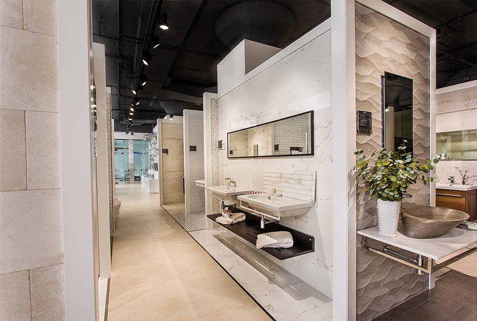 Boston Showroom Interior
