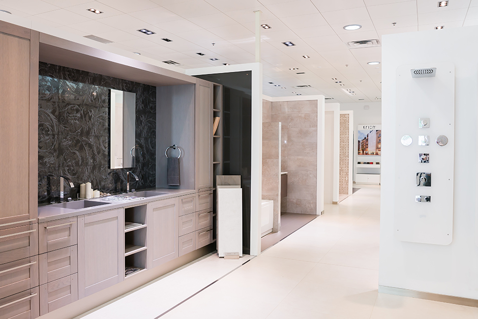 Dallas Emerald Street Showroom Interior