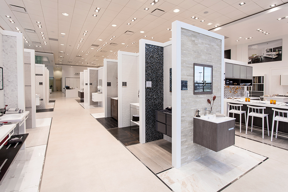 King of Prussia Showroom Interior