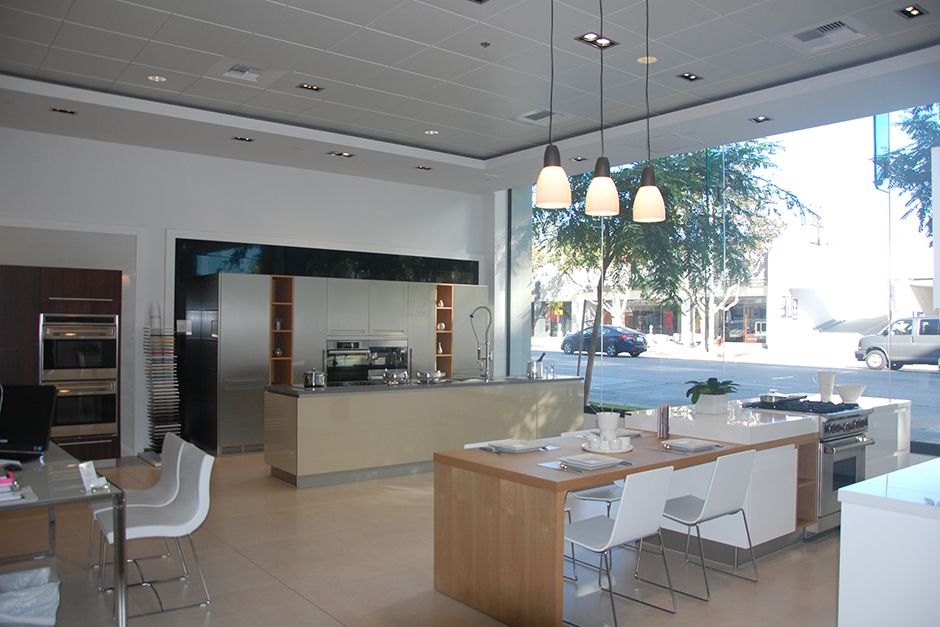 West Hollywood Showroom Interior