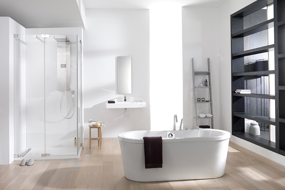 Bathroom fixtures porcelanosa for Porcelanosa faucets