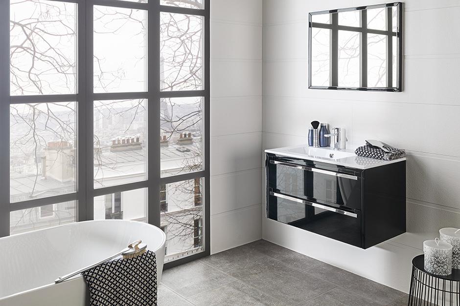 Wall Tile Barbados Blanco Vanity Way Glass Worktop Mirror Bathtub Almond