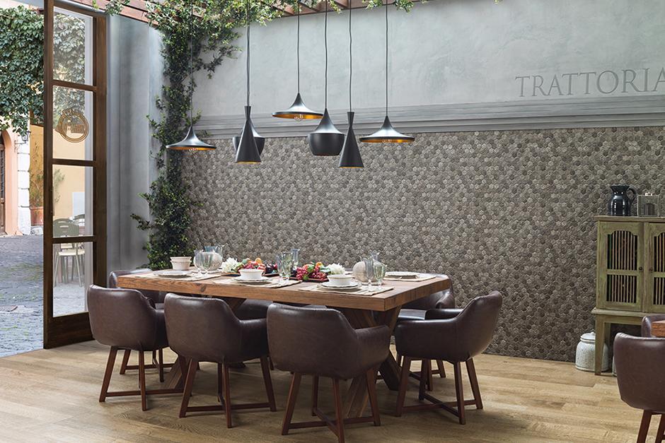 wall tile forest slate - Floor Tiles For Dining Room