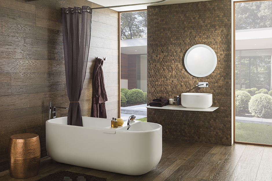 Bathroom porcelanosa for Porcelanosa faucets