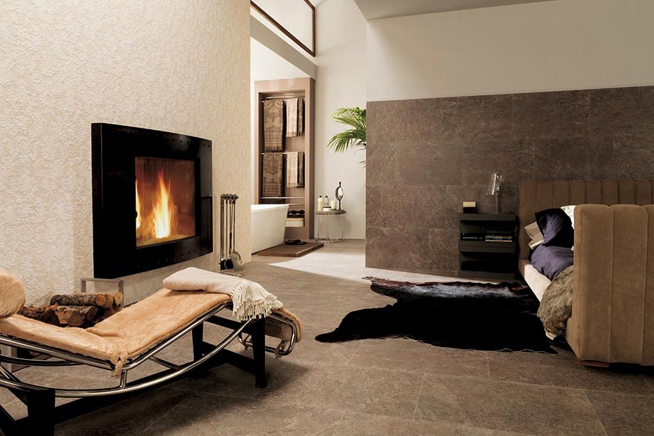 Fireplaces porcelanosa - Carrelage mural sejour ...