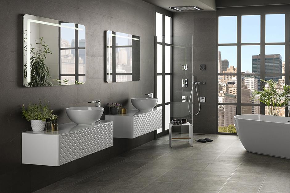 Bathroom fixtures porcelanosa - Porcelanosa azulejos bano ...