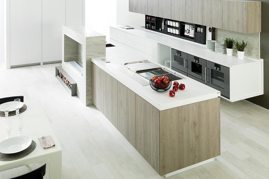 porcelanosa kitchen cabinets