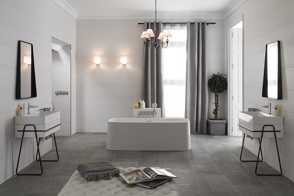Bathroom fixtures porcelanosa for Porcelanosa faucets