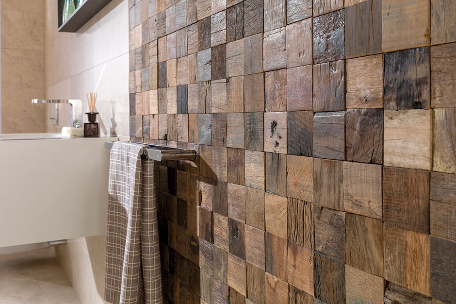 Mosaics porcelanosa for Carrelage decoratif mural exterieur