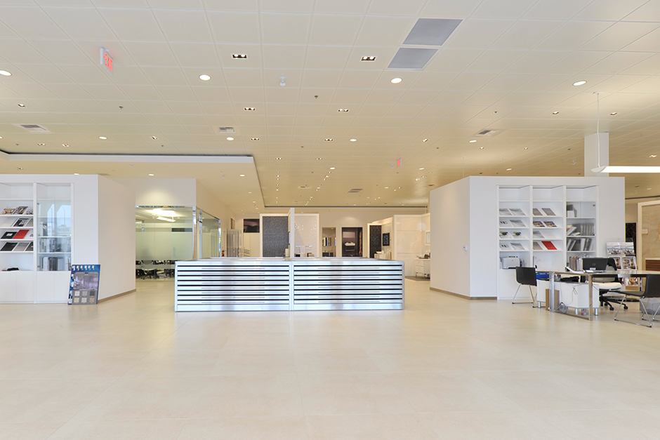 Anaheim Showroom Interior