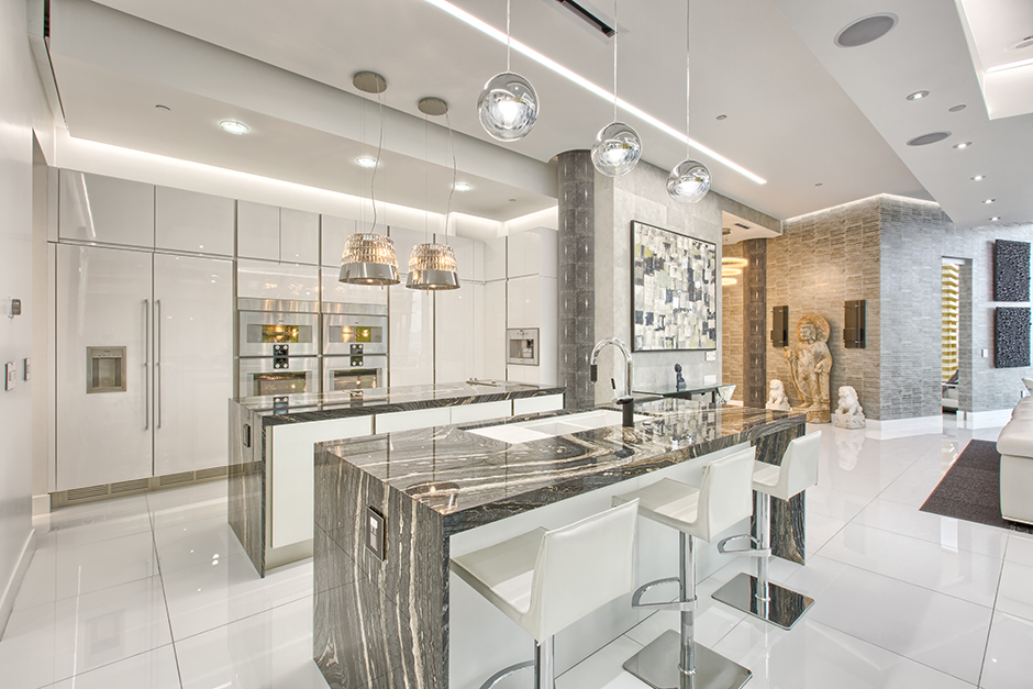 Dugally Penthouse Kitchen, NV