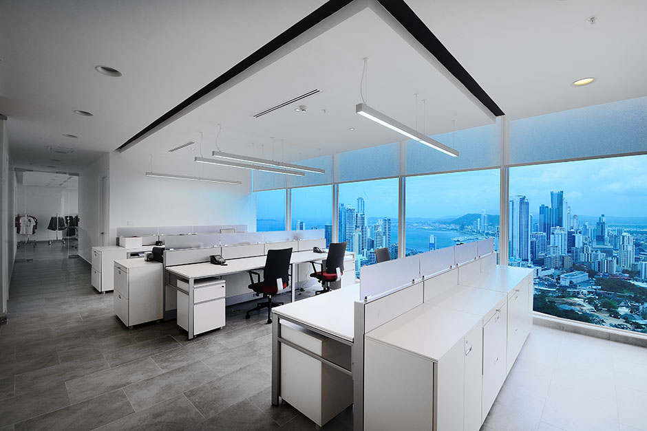 Grupo Azrak Offices Panama Porcelanosa