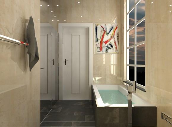 Rana - Boys Bathroom Door view