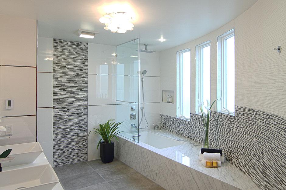 Palo Alto Bathroom Remodel CA Porcelanosa - Jersey city bathroom remodel
