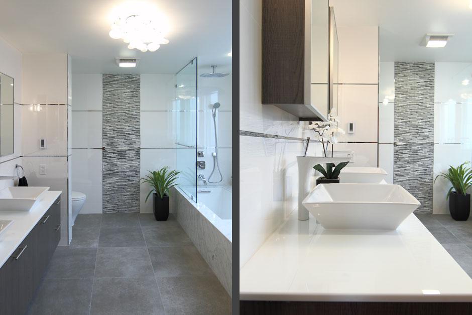 Palo alto bathroom remodel ca porcelanosa for Porcelanosa bathroom floor tiles