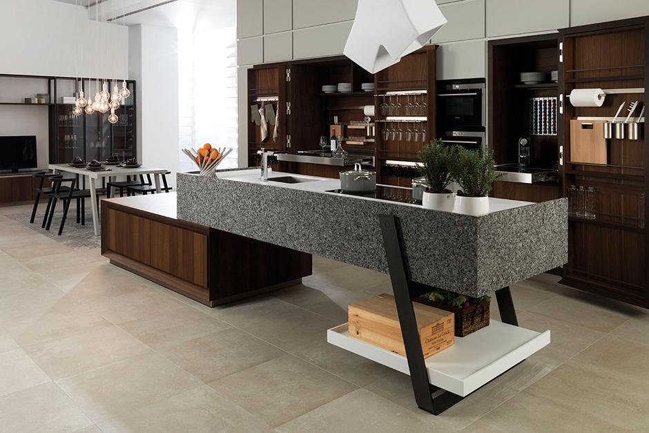 emotions a kitchen collection porcelanosa. Black Bedroom Furniture Sets. Home Design Ideas
