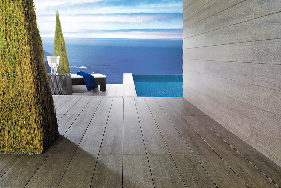 Outdoor Tiles for Exterior Elements Porcelanosa