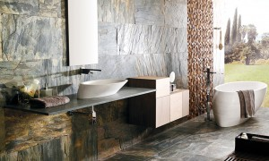 natural stone bathrooms