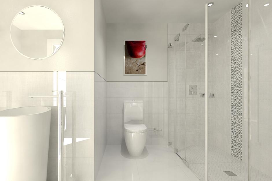 Bathroom renders porcelanosa