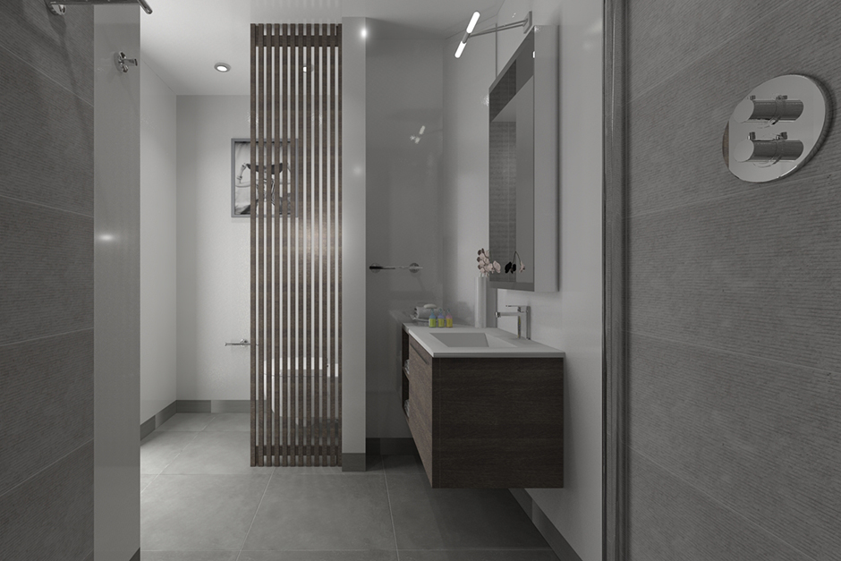 Bathroom Renders Porcelanosa