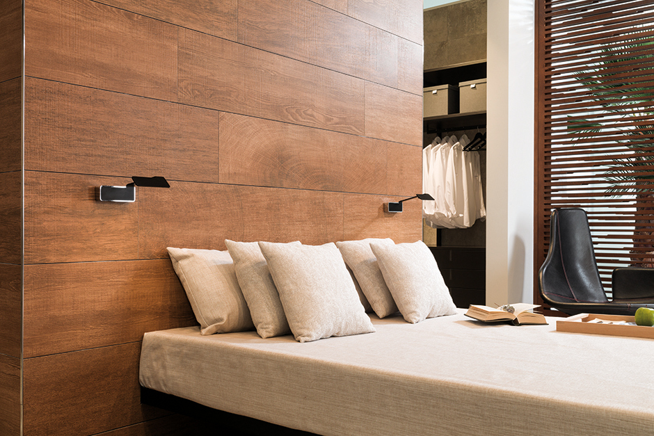 Uses for tile carpet tiles firplace tiles and headboard - Tiles for bedroom walls india ...