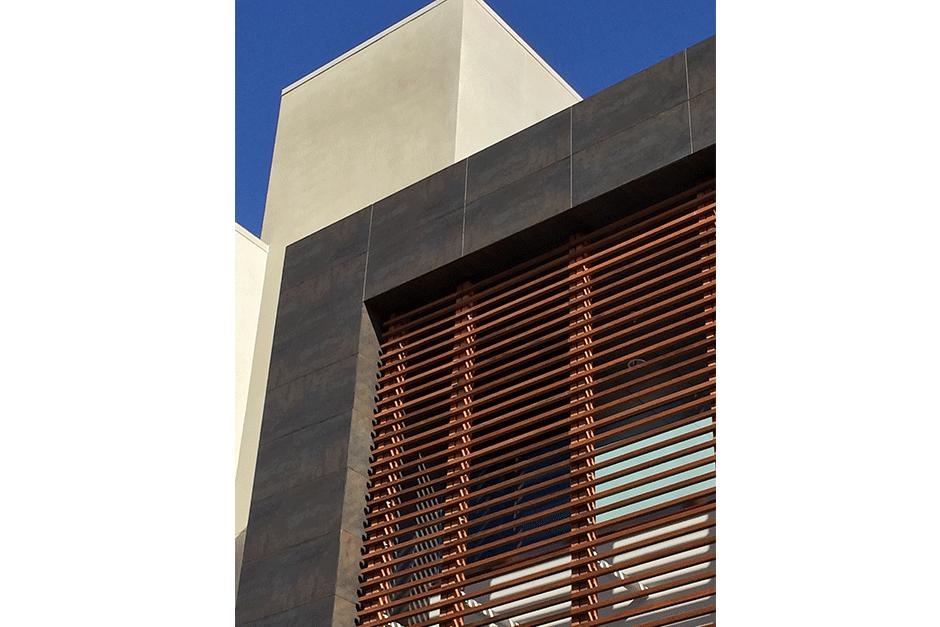 Porcelanosa s innovative facade solutions building - Icon exterior building solutions ...