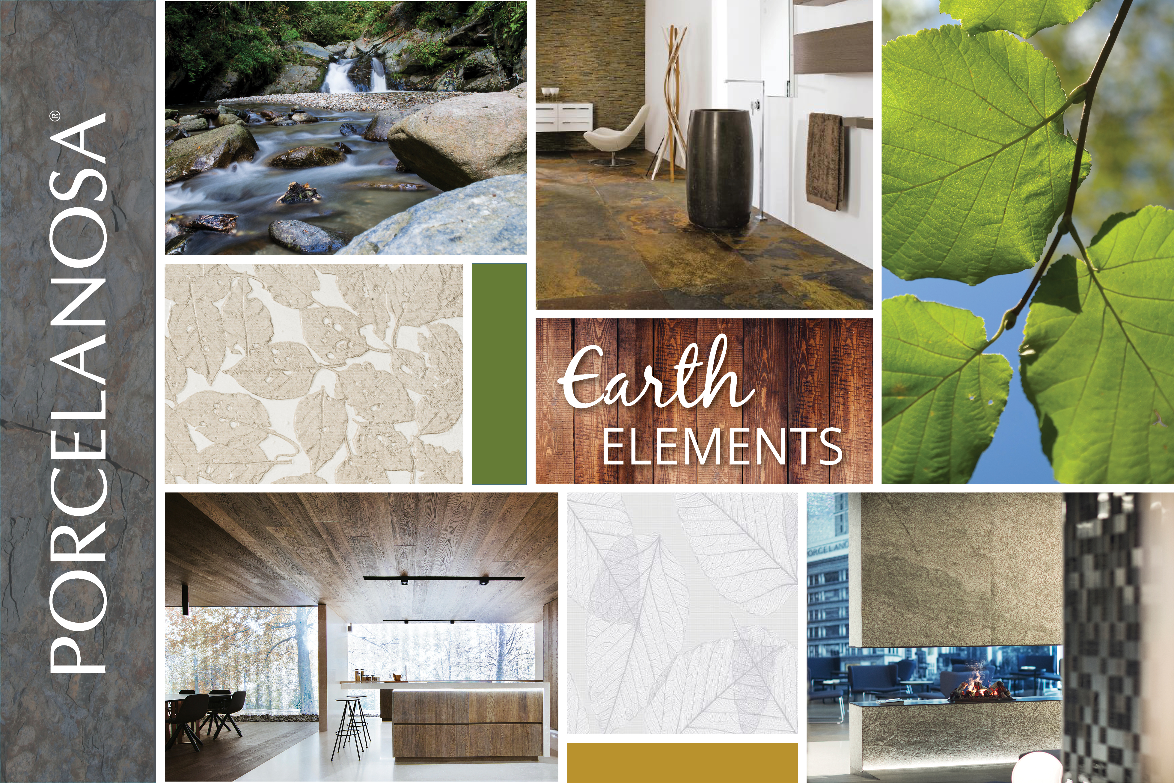 Nature-Inspired Look tiles and bathroom furniture