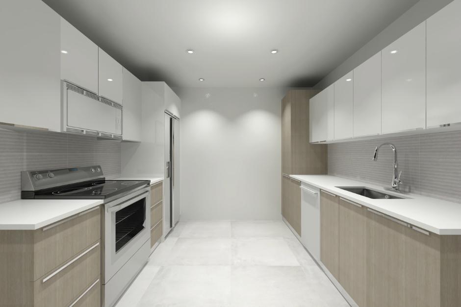 Image Caption: Galley Kitchen