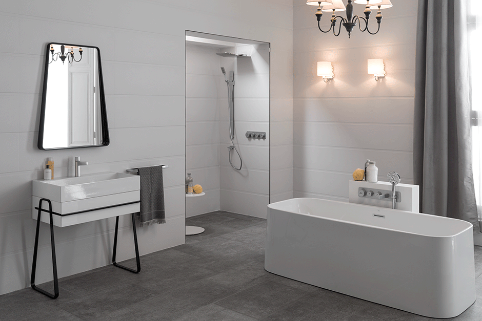 The Pure Line Collection: An Innovative Yet Sophisticated Bathroom Design
