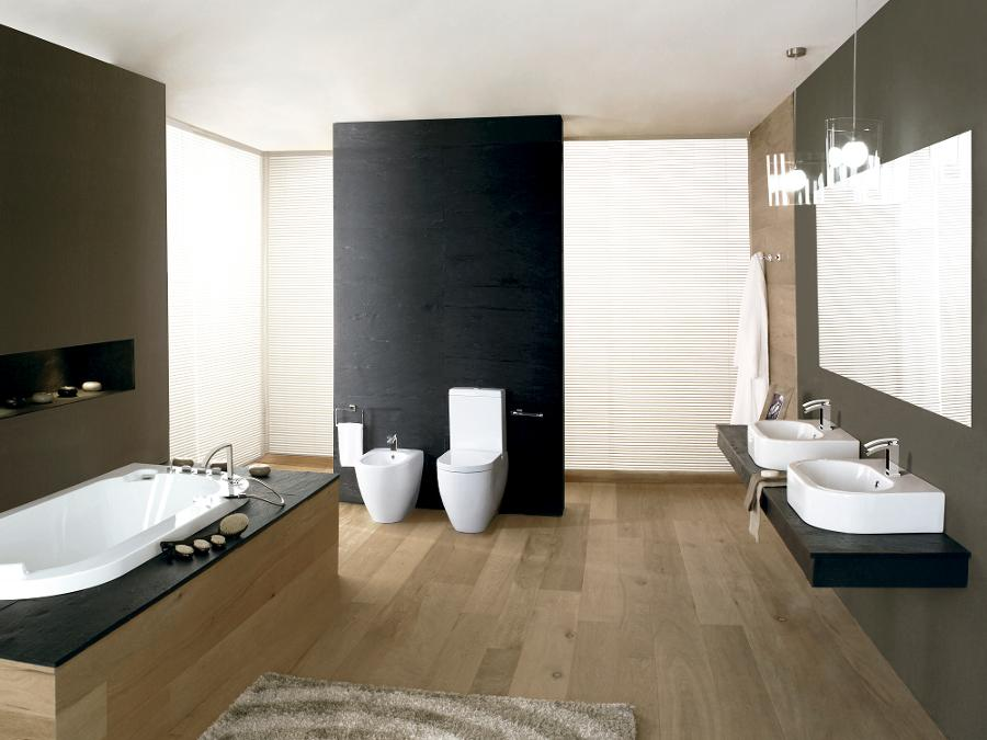 Bathroom sinks undermount sink and wall mount sink for Porcelanosa faucets