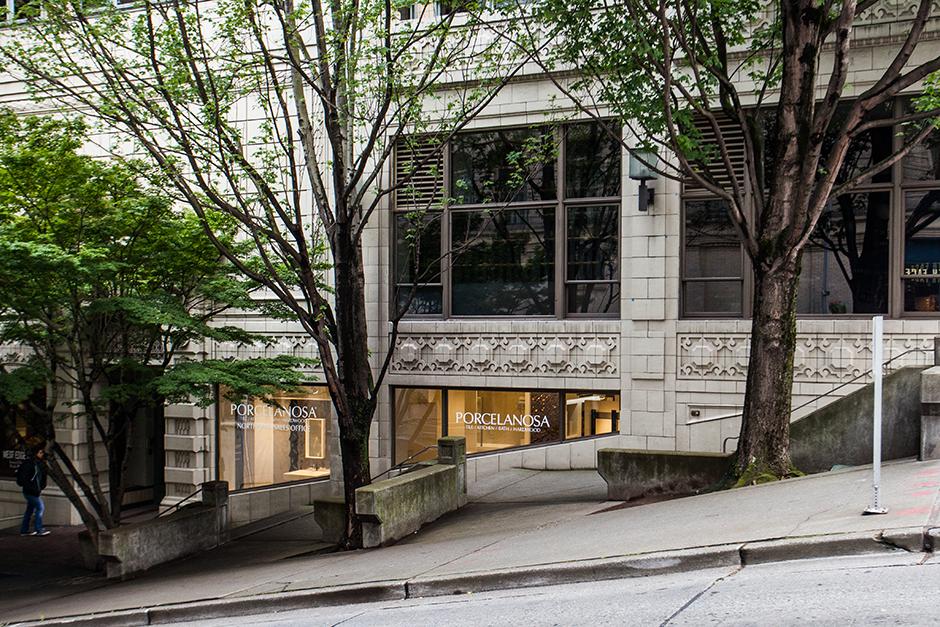 Seattle Showroom Exterior