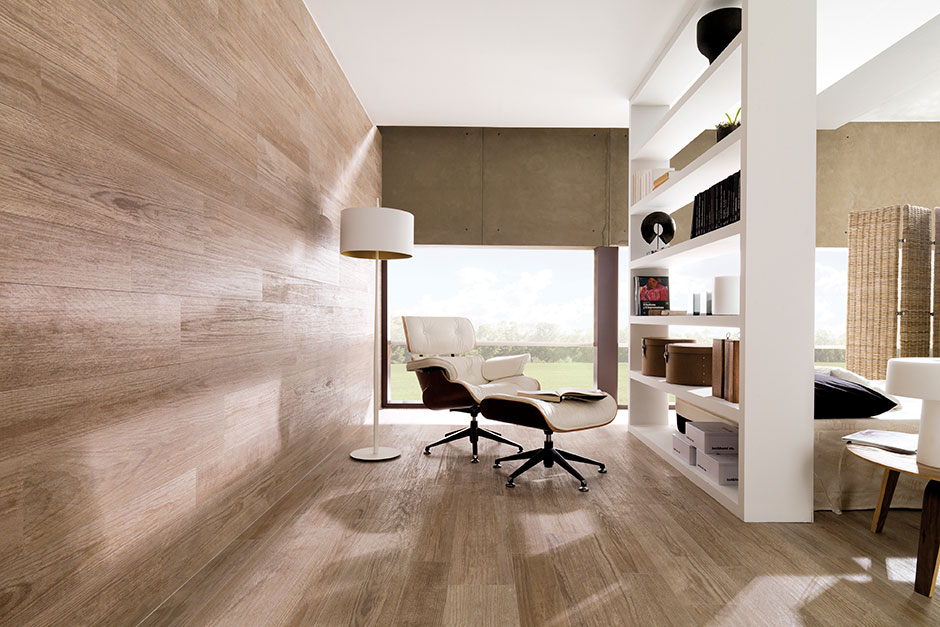 Parker porcelain wood look tiles