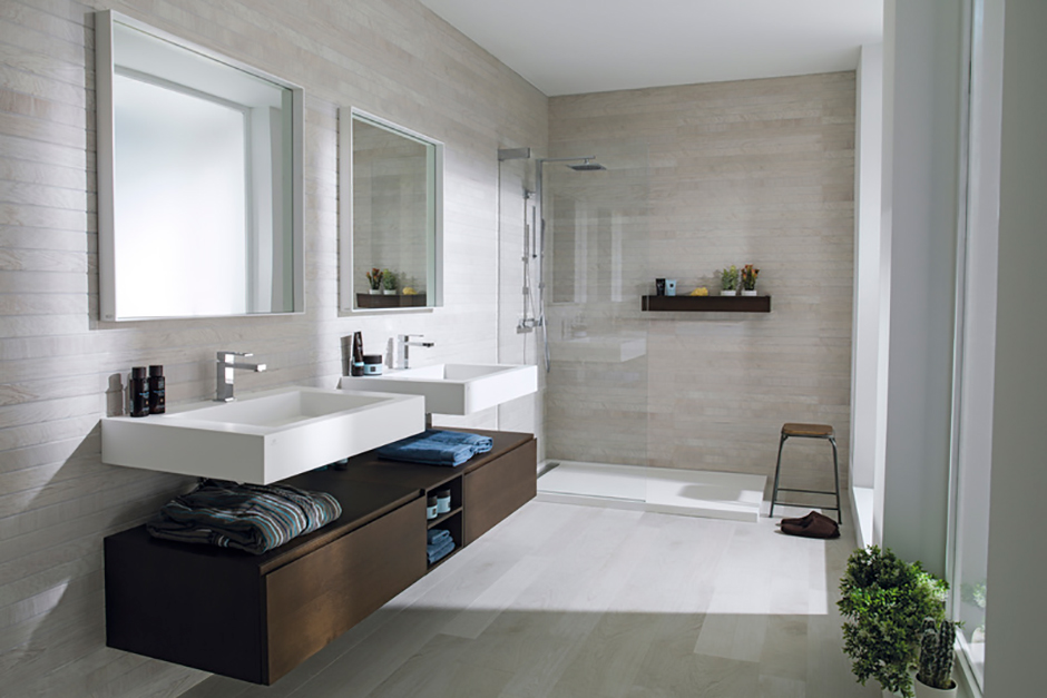 Make Your Bathroom Look Bigger Bathroom Design Ideas