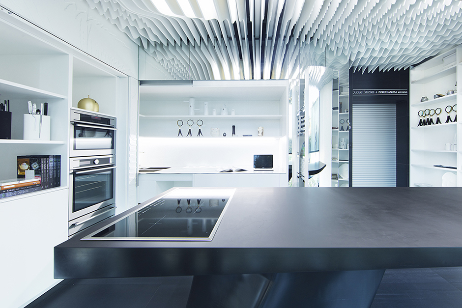 Porcelanosa kitchens showroom