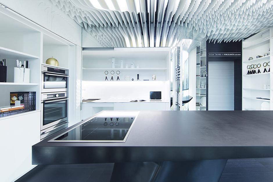 Porcelanosa kitchens showroom