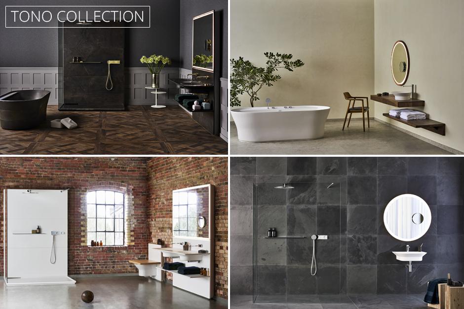 TONO: Porcelanosa's New Bathroom Collection