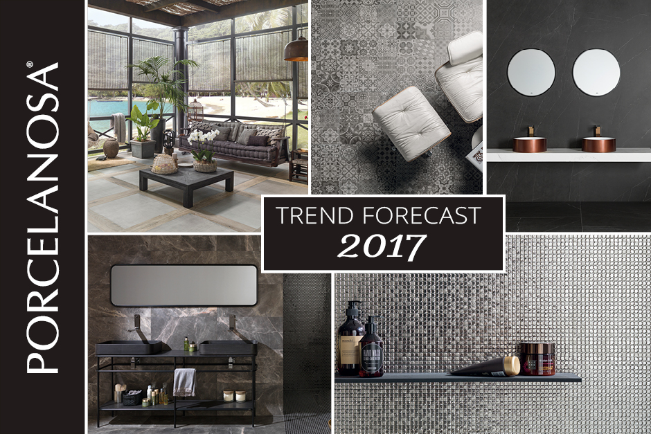 Porcelanosa's 2017 Trend Forecast, porcelanosa tiles