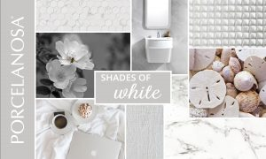 shades of white moodboard