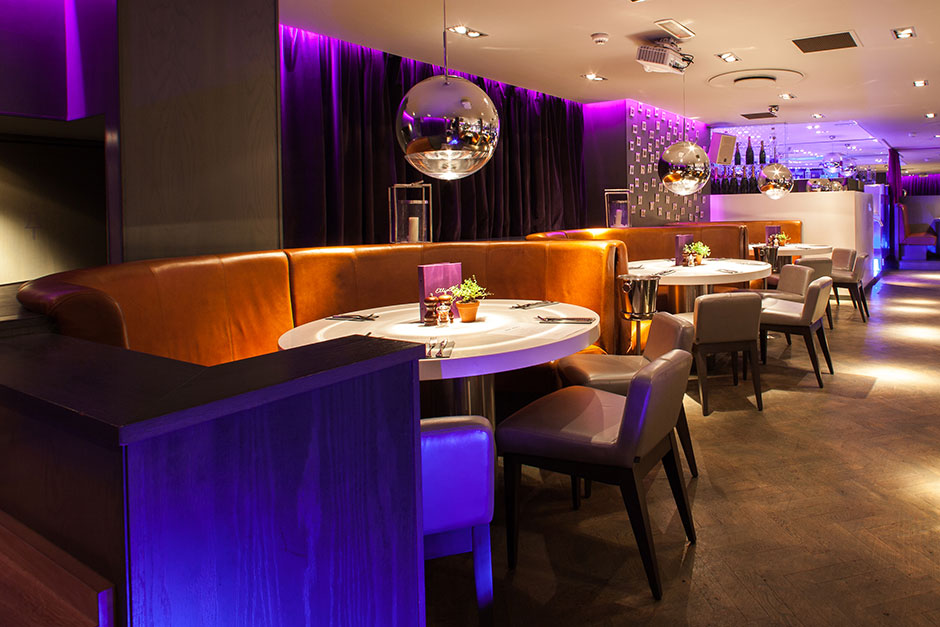 porcelanosa restaurant projects