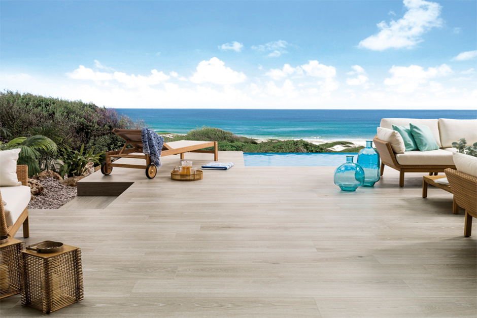 Porcelanosa's seedwood collection