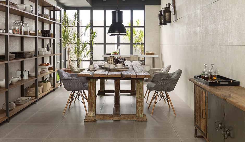 dining room tile