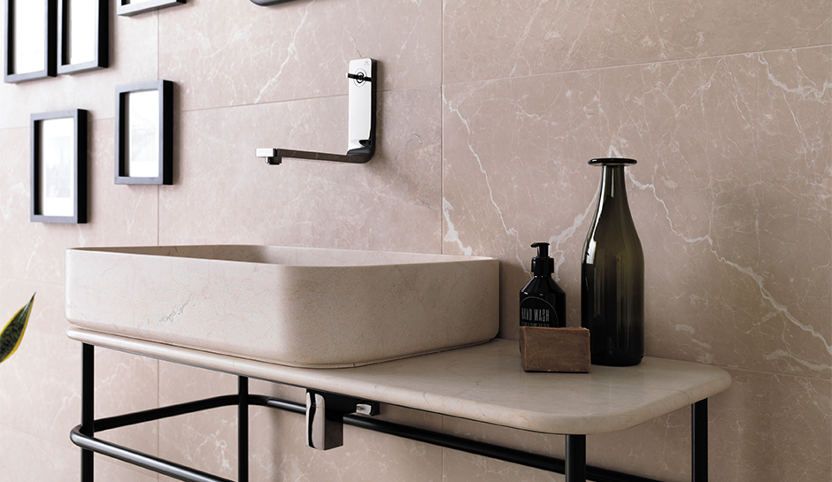 Natural Stone Sink Ideas For Designed Bathrooms Porcelanosa