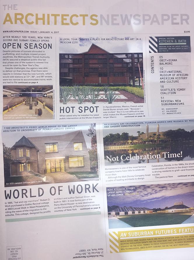 Architect's s Newspaper January 2017